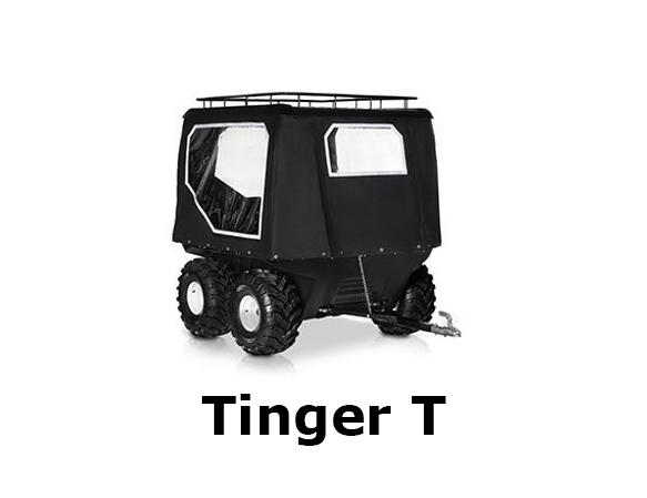tinger, t, tinger t, atv, polish, dealer, easttracked, pojazd gąsienicowy, wszędołaz, przyczepa